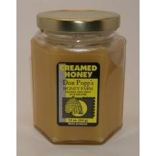 Creamed 12 ounce glass jar Regular