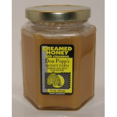 Creamed 12 ounce glass jar Cinnamon