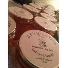 Infused Honey - Habanero 8-ounce